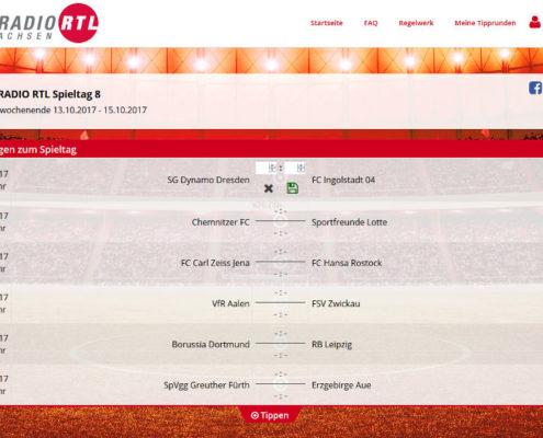 Spieltagsübersicht Spieltags-Tipp Hitradio RTL